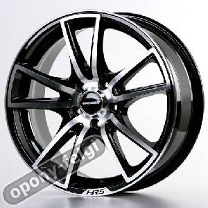 Felgi Aluminiowe Hrs 14 H 411 4x108 Black Front Polished 651