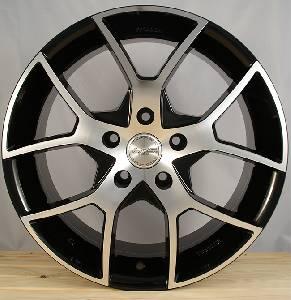 Felgi Aluminiowe Hrs H466 17 5x1150 Et 420 Czarny Polerka 703