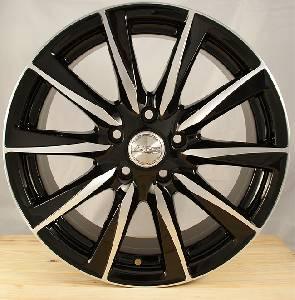 Felgi Aluminiowe Hrs H513 17 5x1080 Et 350 Czarny Polerka 731